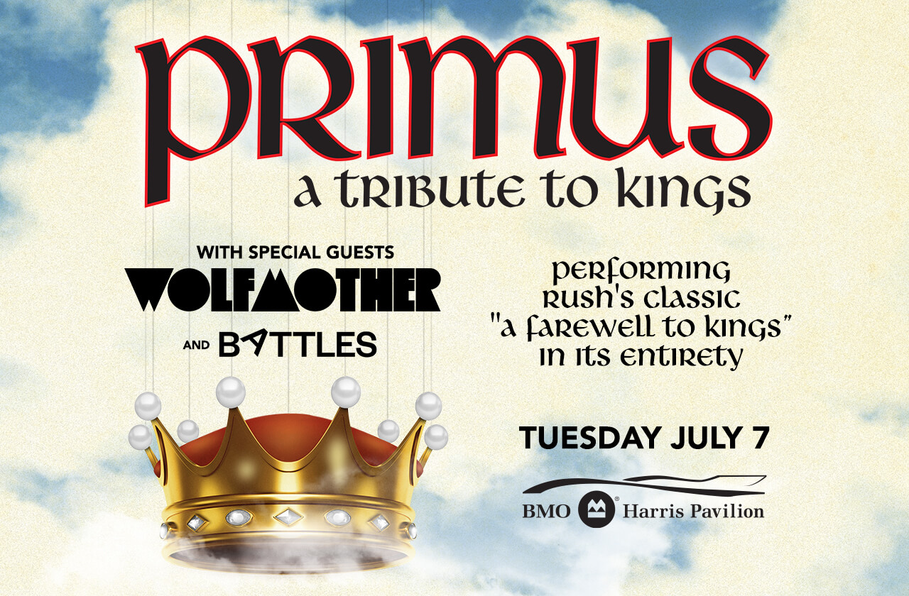 PRIMUS with special guests Wolfmother and Battles